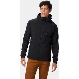 Mountain Hardwear Keele Chaqueta con capucha Hombre, black